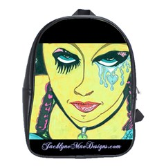Missing You  Retro School Bag (Large)