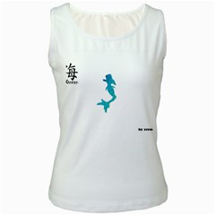 Ocean Womens  Tank Top (white)