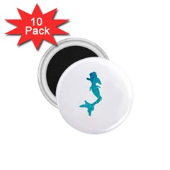 Ocean 1 75  Button Magnet (10 Pack)