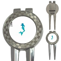Ocean Golf Pitchfork & Ball Marker
