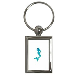 Ocean Key Chain (Rectangle)