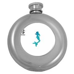 Ocean Hip Flask (Round)