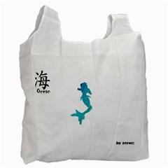 Ocean Recycle Bag (one Side)
