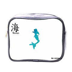 Ocean Mini Travel Toiletry Bag (one Side)