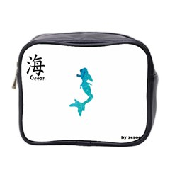Ocean Mini Travel Toiletry Bag (Two Sides)