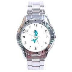 Ocean Stainless Steel Watch (men s)