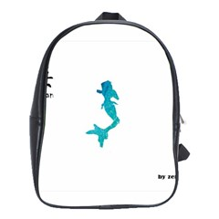 Ocean School Bag (xl)
