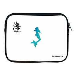 Ocean Apple iPad 2/3/4 Zipper Case