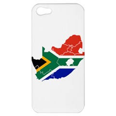 South Africa Flag Map Apple iPhone 5 Hardshell Case