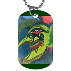 Jester Dog Tag (One Sided)