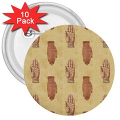 Palmistry 3  Button (10 pack)