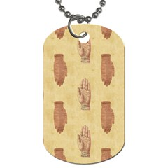 Palmistry Dog Tag (Two Sided)