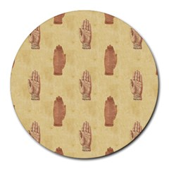 Palmistry 8  Mouse Pad (Round)