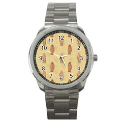 Palmistry Sport Metal Watch