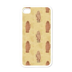 Palmistry Apple iPhone 4 Case (White)