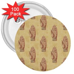 Palmistry 3  Button (100 pack)
