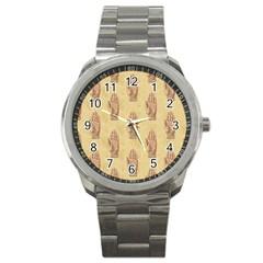 Palmistry Sport Metal Watch