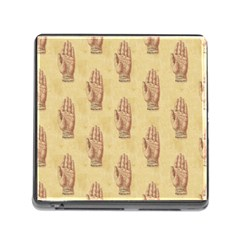 Palmistry Memory Card Reader with Storage (Square)