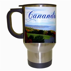 Canandaigua Lake Travel Mug (White)