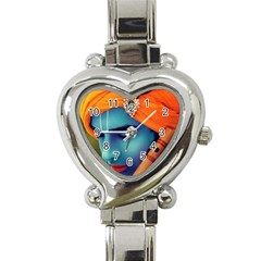 528285 447835565285650 288605371 N Heart Italian Charm Watch