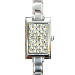 1905 Easter Witch  Rectangular Italian Charm Watch
