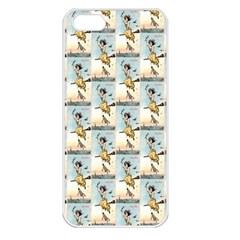 1905 Easter Witch  Apple iPhone 5 Seamless Case (White)