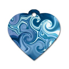 L281 Dog Tag Heart (Two Sided)