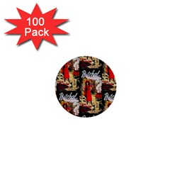 1912 Witchal Witch 1  Mini Button (100 pack)