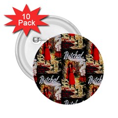 1912 Witchal Witch 2.25  Button (10 pack)