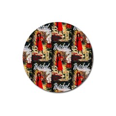 1912 Witchal Witch Magnet 3  (Round)