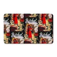 1912 Witchal Witch Magnet (Rectangular)