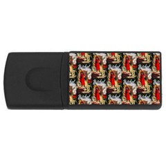 1912 Witchal Witch 4GB USB Flash Drive (Rectangle)