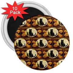 A Merry Hallowe en  3  Button Magnet (10 pack)