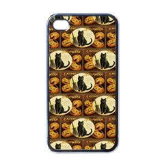 A Merry Hallowe en  Apple iPhone 4 Case (Black)