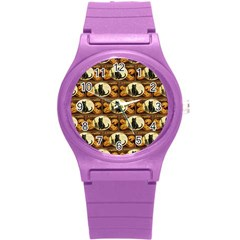 A Merry Hallowe en  Plastic Sport Watch (Small)