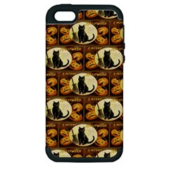 A Merry Hallowe en  Apple iPhone 5 Hardshell Case (PC+Silicone)