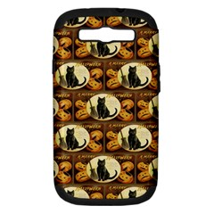 A Merry Hallowe en  Samsung Galaxy S III Hardshell Case (PC+Silicone)