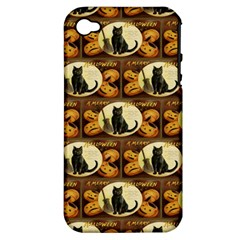 A Merry Hallowe en  Apple iPhone 4/4S Hardshell Case (PC+Silicone)