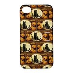A Merry Hallowe en  Apple iPhone 4/4S Hardshell Case with Stand