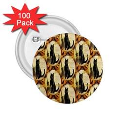 A Merry Hallowe en  2.25  Button (100 pack)