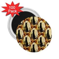 A Merry Hallowe en  2.25  Button Magnet (100 pack)