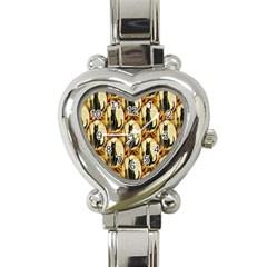 A Merry Hallowe en  Heart Italian Charm Watch