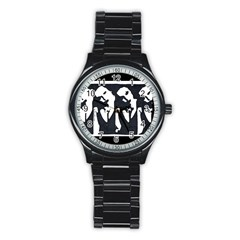 Subtle Change Sport Metal Watch (black)