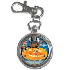 Hallowe en Precautions  Key Chain & Watch