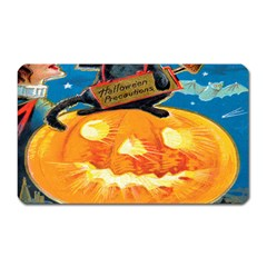 Hallowe en Precautions  Magnet (Rectangular)