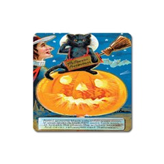 Hallowe en Precautions  Magnet (Square)