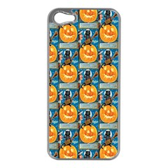 Hallowe en Precautions  Apple iPhone 5 Case (Silver)