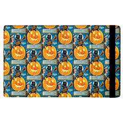 Hallowe en Precautions  Apple iPad 3/4 Flip Case