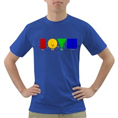 LOVE Mens' T-shirt (Colored)