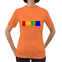 Love Womens' T Shirt (colored)